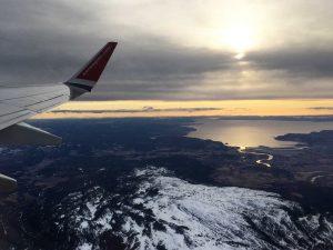 Trondheim-Copenhagen-Flight